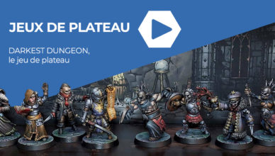 Jeux de plateau - darkest dungeon